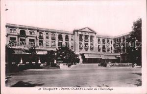 Touquet Paris Plage Le Hotel de L`Hermitage Kat. Le Touquet Paris Plage