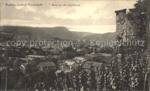 Bad Kreuznach Blick von der Kauzenburg Kat. Bad Kreuznach