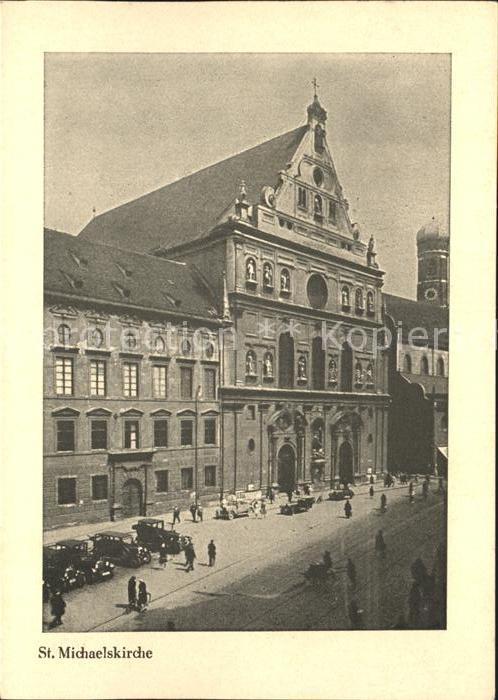 Muenchen St. Michaelskirche / Muenchen /Muenchen LKR