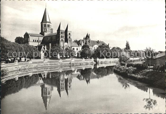 Paray le Monial Basilique du Sacre Coeur Kat. Paray le Monial