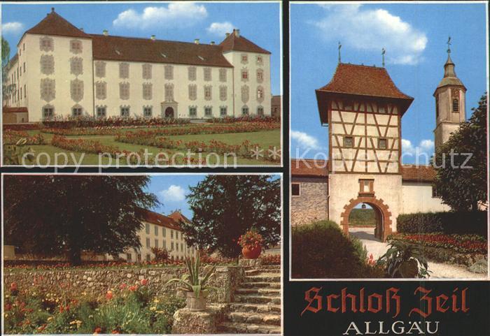 Leutkirch Schloss Zeil Kat. Leutkirch im Allgaeu