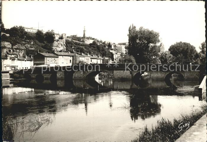 Poitiers Vienne Pont Neuf sur le Clain Notre Dame des Dunes Kat. Poitiers