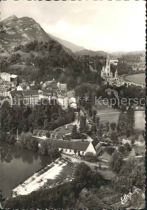 Lourdes Hautes Pyrenees Basilique Calvaire Musee Bernadette Kat. Lourdes