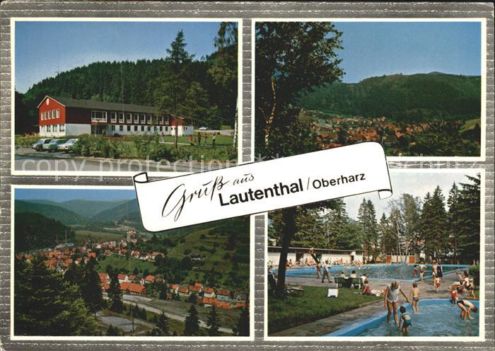 Lautenthal Harz Schwimmbad Kat. Langelsheim