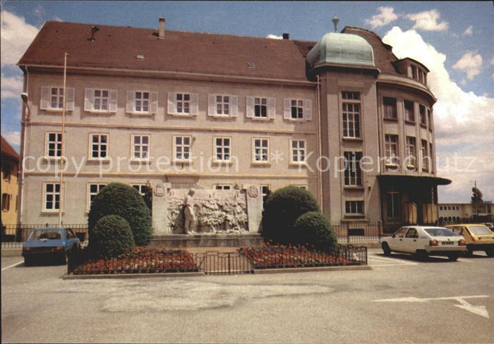 Soultz Haut Rhin Schule Kat. Soultz Haut Rhin
