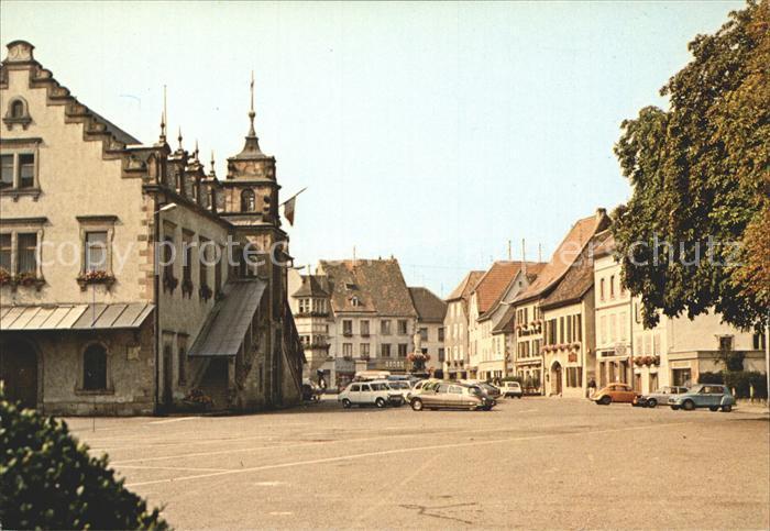 Soultz Haut Rhin Marktplatz Kat. Soultz Haut Rhin