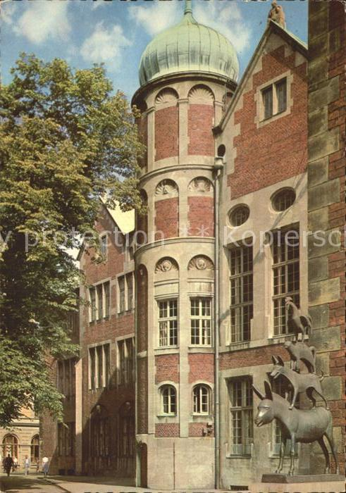 Bremen Bremer Stadtmusikanten Kat. Bremen