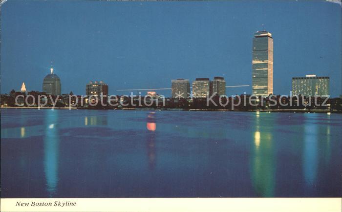 Boston Massachusetts New Boston Skyline Kat. Boston