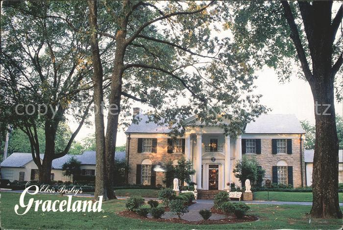Memphis Tennessee Graceland Home of Elvis Presley Kat. Memphis