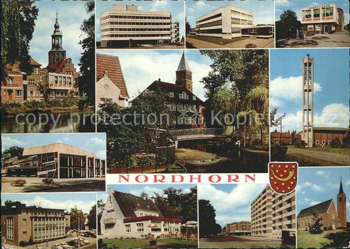 Nordhorn Orts und Teilansichten Kirchen Kat. Nordhorn
