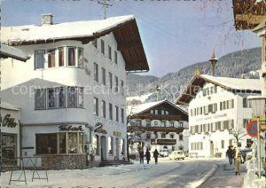 Kirchberg Tirol Strassenpartie Kat. Kirchberg in Tirol
