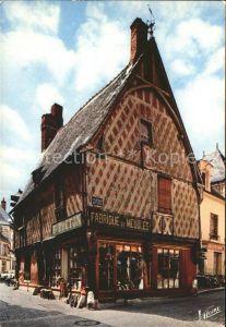 Saint Aignan Loir et Cher altes Fachwerkhaus Kat. Saint Aignan