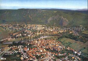 Bad Muenster Stein Ebernburg Fliegeraufnahme mit Ebernburg Kat. Bad Muenster am Stein Ebernburg