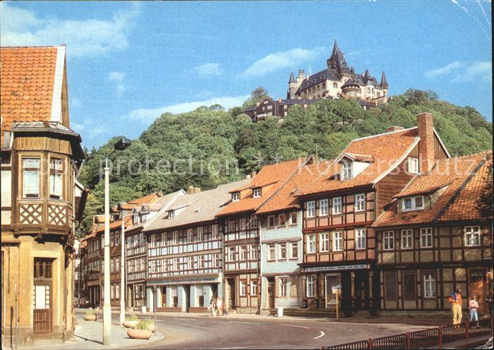 Wernigerode Harz Feudaimuseum Schloss WErnigerode  Kat. Wernigerode