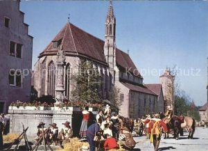 Rothenburg Tauber Historische Festspiele Pikett  Kat. Rothenburg ob der Tauber