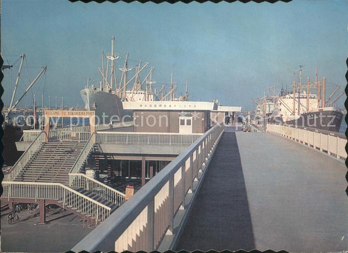Yokohama Hafen  Kat. Yokohama