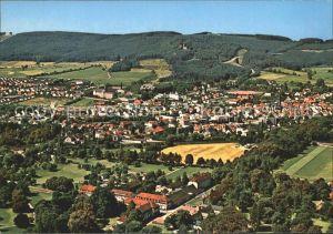 Bad Driburg Eggegebirge am Teutoburger Wald Fliegeraufnahme Kat. Bad Driburg