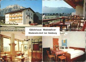 Anif Gaestehaus Weinleitner Niederalm Kat. Anif