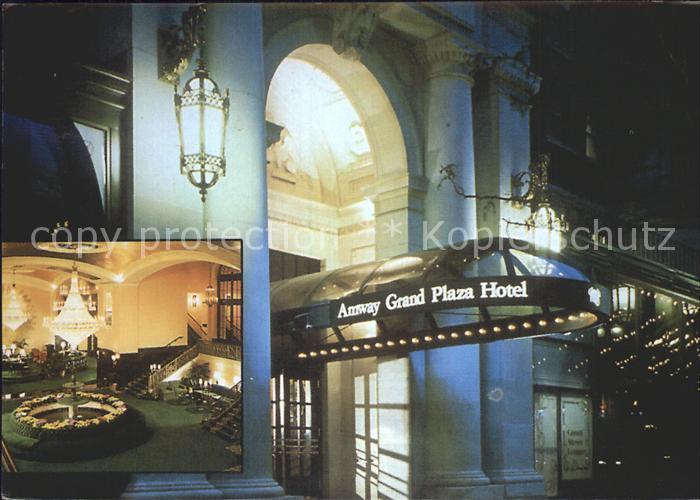 Grand Rapids Michigan Amway Grand Plaza Hotel Kat. Grand Rapids