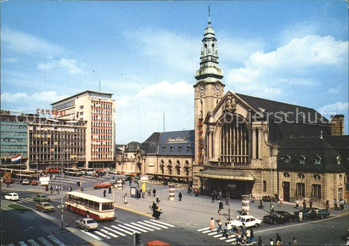 Luxembourg Luxemburg Gare Centrale Kat. Luxembourg