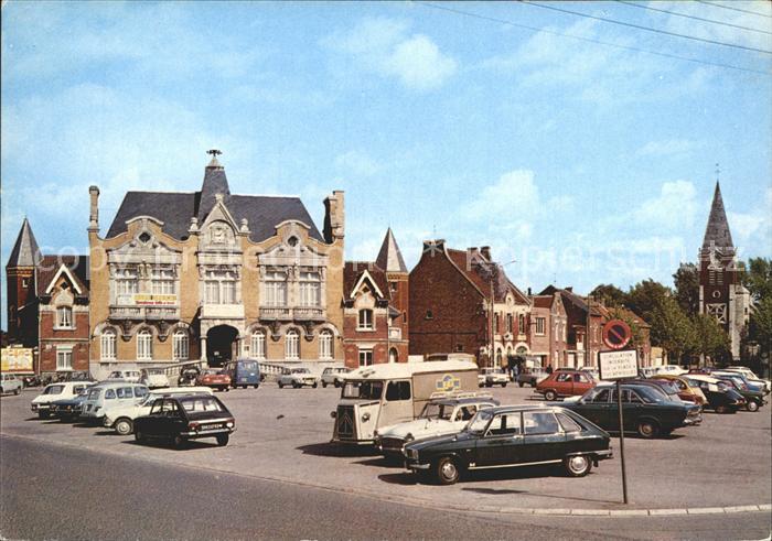 Mericourt Pas de Calais Hotel de Ville et Eglise Kat. Mericourt
