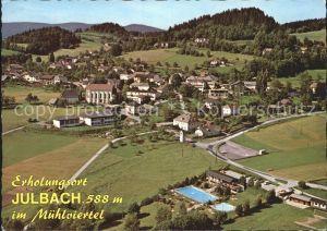 Julbach Oberoesterreich Fliegeraufnahme / Julbach /Muehlviertel
