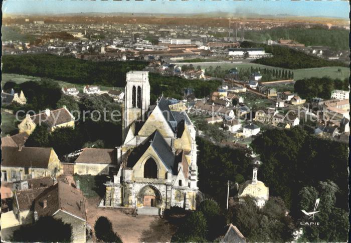Montataire Fliegeraufnahme Eglise Kat. Montataire