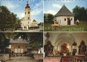 Fischbach Steiermark mit Kirche Kapelle Kat. Fischbach
