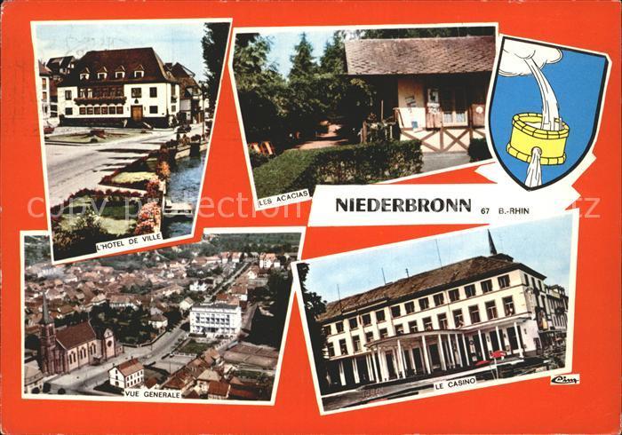 Niederbronn les Bains Les Acacias Hotel de Ville Casino Kat. Niederbronn les Bains