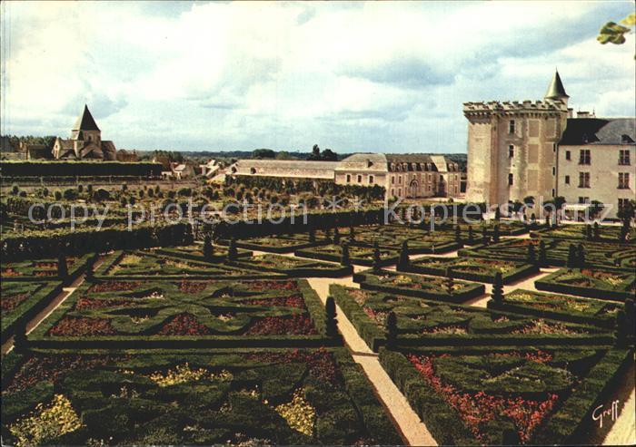 Villandry Chateau et Jardin Kat. Villandry