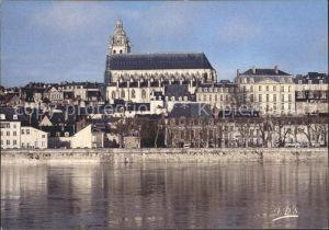 Blois Loir et Cher Partie an der Loir Kat. Blois