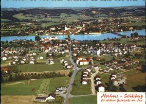 Schaerding Fliegeraufnahme Neuhaus am Inn Kat. Schaerding