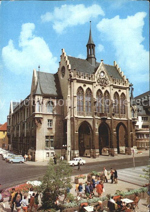 Erfurt Rathaus Kat. Erfurt