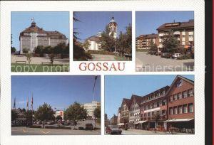 Gossau SG Teilansichten Kirche Kat. Gossau SG