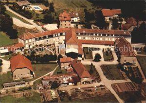 Montferrand le Chateau Fliegeraufnahme Schloss Kat. Montferrand le Chateau