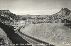 Santa Fe New Mexico Rio Grande Bruecke Kat. Santa Fe