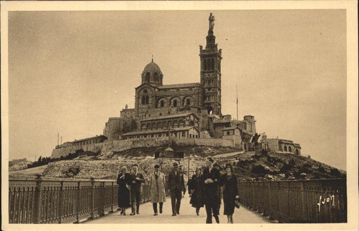 Marseille Notre Dame de la Garde La Basilique / Marseille /Arrond. de Marseille