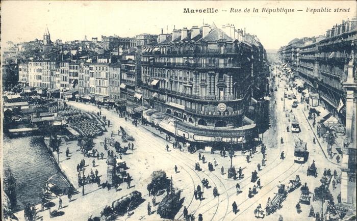Marseille Rue de la Republique / Marseille /Arrond. de Marseille