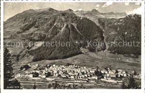 Airolo Blick ins Tal Alpenpanorama Kat. Airolo