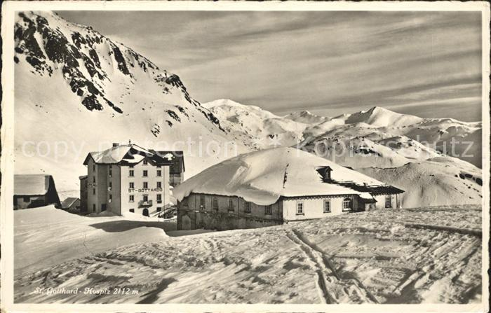 St Gotthard Hospiz st gotthard hospiz alpenpanorama gotthard st nr sw14765