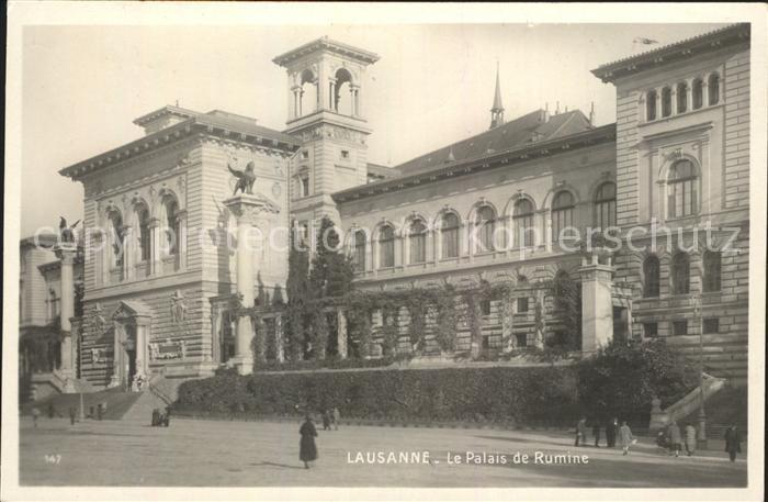Lausanne VD Palais de Rumine Kat. Lausanne