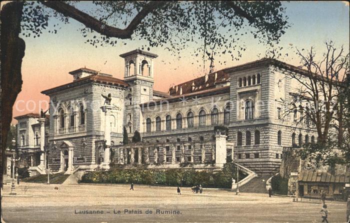Lausanne VD Le Palais de Rumine Kat. Lausanne