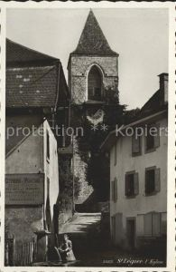 St Legier Kirchenpartie Kat. St Legier