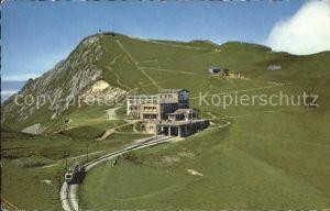 Rochers de Naye mit Bergbahn Kat. Rochers de Naye
