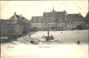 Barr Bas-Rhin Rathausplatz * / Barr /Arrond. de Selestat-Erstein