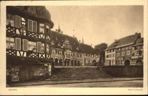 Barr Bas-Rhin Rathaus x / Barr /Arrond. de Selestat-Erstein