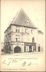 Luxeuil-les-Bains Luxeuil Maison Francois Maison du Juif x / Luxeuil-les-Bains /Arrond. de Lure