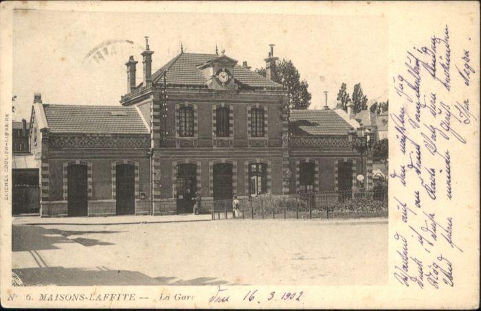 Maisons-Laffitte Maisons La Gare x / Maisons-Laffitte /Arrond. de Saint-Germain-en-Laye