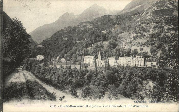 Luz-Saint-Sauveur Hautes Pyrenees Luz-Saint-Sauveur Pic d'Ardiden * / Luz-Saint-Sauveur /Arrond. d Argeles-Gazost