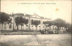 Lorette Loire Lorette Loire Place Mairie Ecole * / Lorette /Arrond. de Saint-Etienne